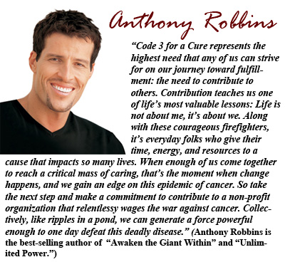 Anthony Robbins photo and statement