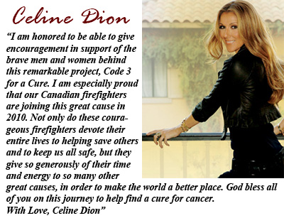 Celine Dion photo and statement