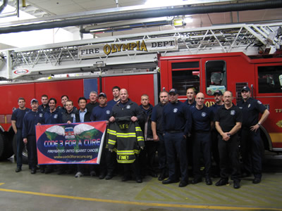 Photo of Visit with Olympia Fire Department