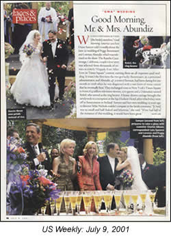 Image of Article in US Weekly Magazine