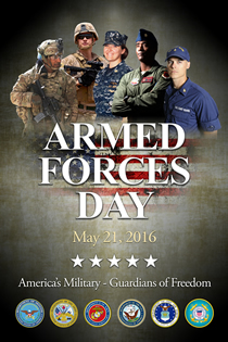 Armed Forces Day poster