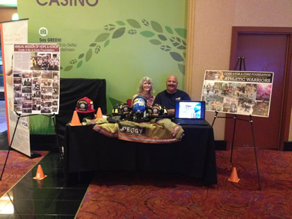 Photo of C3FAC Booth at Harrah's Resort Southern California